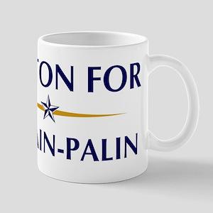 COLTON for McCain-Palin Mug