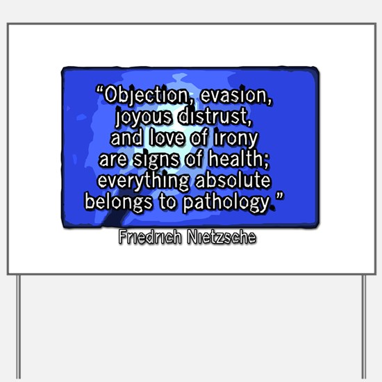 Objection, evasion, joyous distrust, and love of i