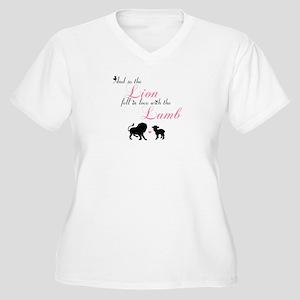 Lion and Lamb Plus Size T-Shirt