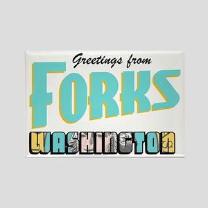 Forks Rectangle Magnet