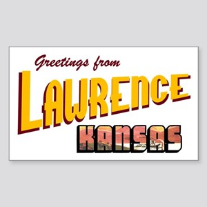 Lawrence Rectangle Sticker