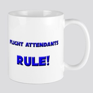 Flight Attendants Rule! Mug