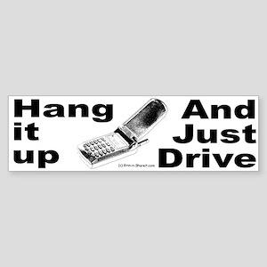 Cell Phone Bumper Sticker