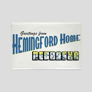 Hemingford Home Rectangle Magnet