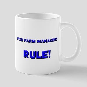 Fish Farm Managers Rule! Mug