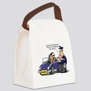 but officer Canvas Lunch Bag