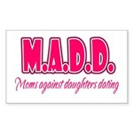 M.A.D.D. Rectangle Sticker