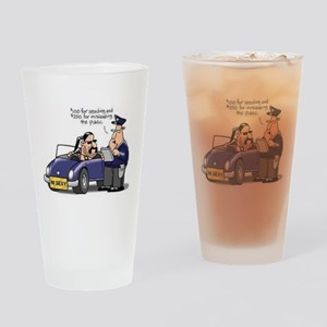 but officer Drinking Glass
