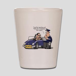 but officer Shot Glass