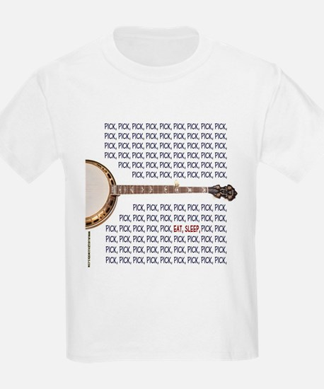 Banjo Picker Kids T-Shirt
