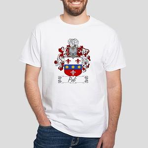 Poli Family Crest White T-Shirt