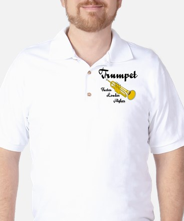 Higher Trumpet Golf Shirt