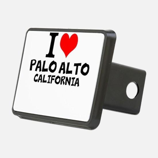 I Love Palo Alto, California Hitch Cover