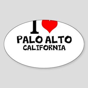I Love Palo Alto, California Sticker
