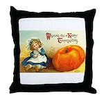 1909 Thanksgiving Throw Pillow