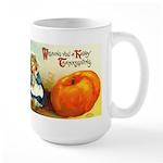 1909 Thanksgiving Large Mug