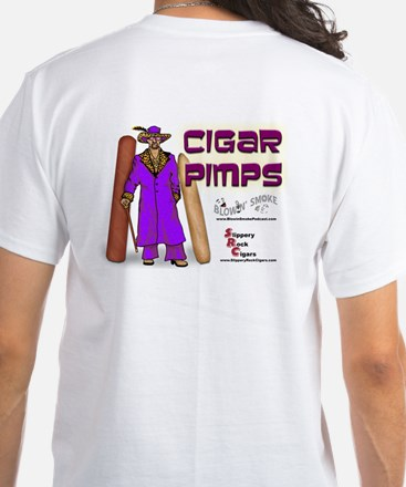 Cigar Pimps White T-Shirt