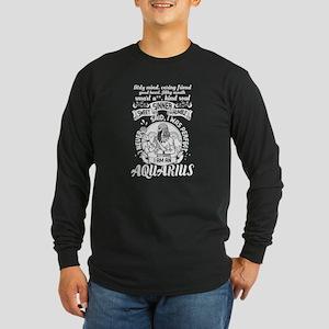 I Am An Aquarius T Shirt, Zodi Long Sleeve T-Shirt
