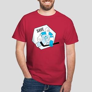 hockey goalie Dark T-Shirt