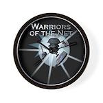 Warriors of the Net Wall Clock