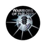 """Warriors of the Net 3.5"""" Button"""