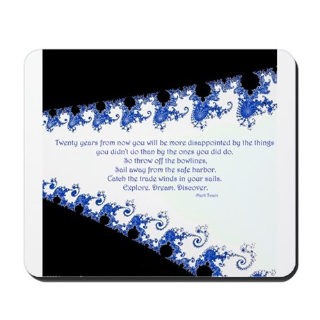 Quote-003: Twenty Years From Mousepad