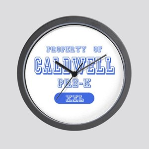 Property of Caldwell Pre-K Wall Clock