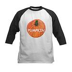 Big Ripe Halloween Pumpkin Kids Baseball Jersey