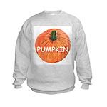 Big Ripe Halloween Pumpkin Kids Sweatshirt