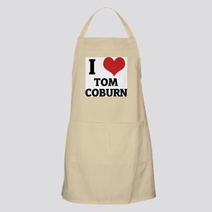 I Love Tom Coburn BBQ Apron