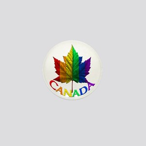 Canada Pride Mini Buttons Pins Gay Pride Gifts