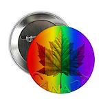 Canada Pride Button Gay Pride Rainbow Button Gifts