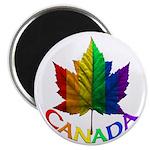 Canada Pride Magnets 10 Pk Gay Pride Rainbow Gifts