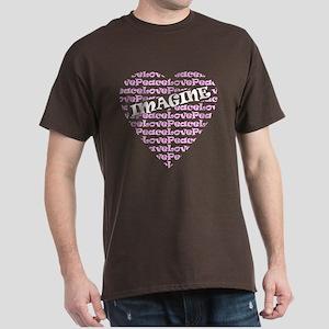 IMAGINE HEART Dark T-Shirt