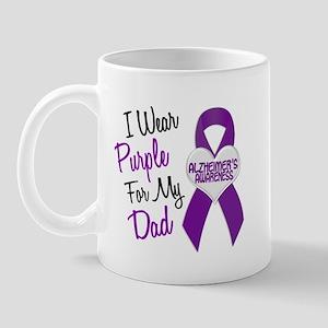 I Wear Purple For My Dad 18 (AD) Mug