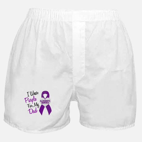 I Wear Purple For My Dad 18 (AD) Boxer Shorts