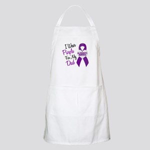 I Wear Purple For My Dad 18 (AD) BBQ Apron