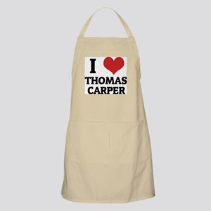 I Love Thomas Carper BBQ Apron