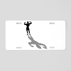 Body Builder Aluminum License Plate