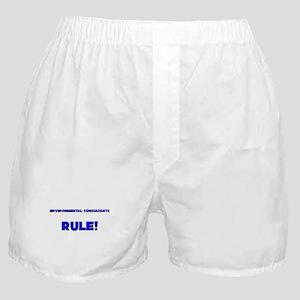 Environmental Consultants Rule! Boxer Shorts