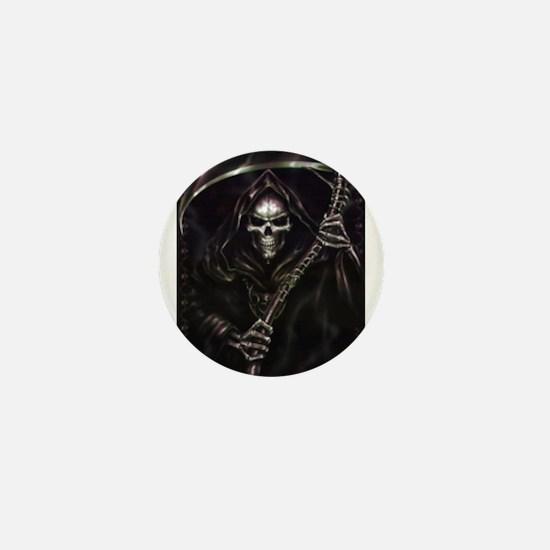 grim reaper poster Mini Button