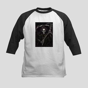grim reaper poster Kids Baseball Jersey