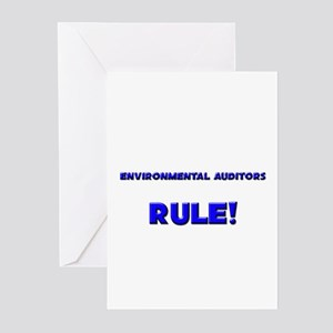 Environmental Auditors Rule! Greeting Cards (Pk of