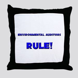 Environmental Auditors Rule! Throw Pillow
