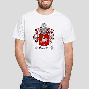 Rambaldi Family Crest White T-Shirt