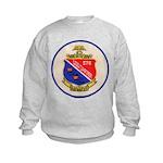 USS DARTER Kids Sweatshirt