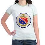 USS DARTER Jr. Ringer T-Shirt