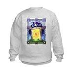 Celtic Doorway Kids Sweatshirt