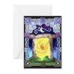 Celtic Doorway Greeting Cards (Pk of 10)