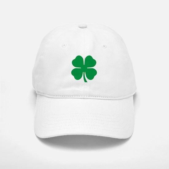 Four Leaf Clover Baseball Baseball Cap